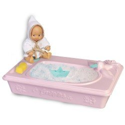 Accessories for Barriguitas Classic doll 15 cm - Bathtub with baby figure