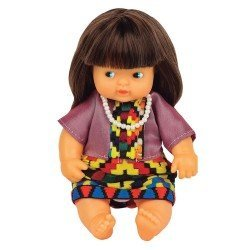 Barriguitas Classic doll 15 cm - Barriguitas of the World - Burma