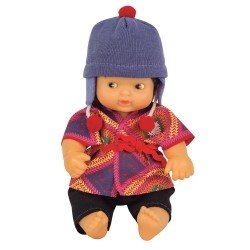 Barriguitas Classic doll 15 cm - Barriguitas of the World - Peru