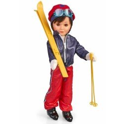 Nancy collection doll 41 cm - Lucas Skier / 2020 Reedition