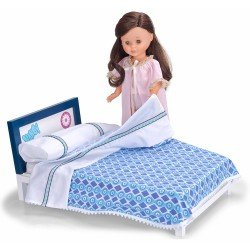 Nancy doll complements 41 cm - Nancy collection and bed / 2016 Reedition