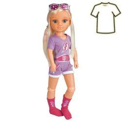 Nancy doll Outfit 43 cm - A day of costume - Super Hero set