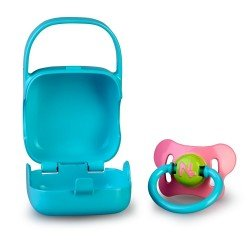 Nenuco doll Complements - Pacifier with blue case