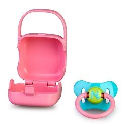 Nenuco doll Complements - Pacifier with pink case