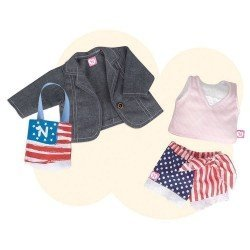 Nenuco doll Outfit 42 cm - Deluxe Outfit - New York