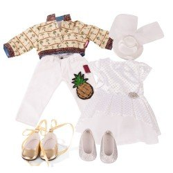 Götz doll Outfit 45-50 cm - Set Special Day