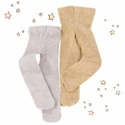 Götz doll Complements 36-50 cm - Must Have glitter tights set