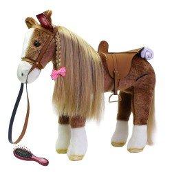 Brown horse for Hannah doll Götz brand 50 cm