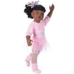 Götz doll 50 cm - Hannah at the ballet African-American