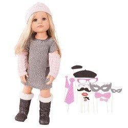 Götz doll 50 cm - Hannah loves party glamour