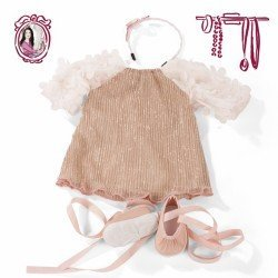 Götz doll Outfit 45-50 cm - Set Boho Style