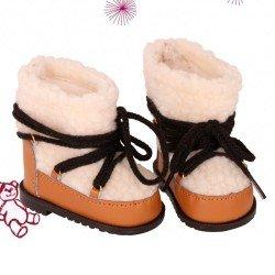 Götz doll Complements 42-50 cm - Fur boots