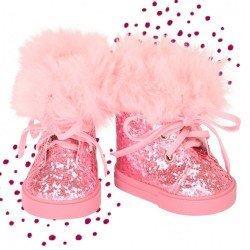 Götz doll Complements 42-50 cm - Glitter boots