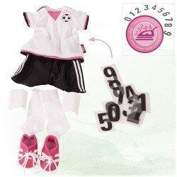 Götz doll Outfit 45-50 cm - Combo Football