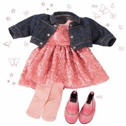 Götz doll Outfit 45-50 cm - Combo Glitter Glamour