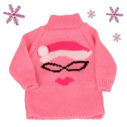 Götz doll Outfit 45-50 cm - Sweater Miss Santa