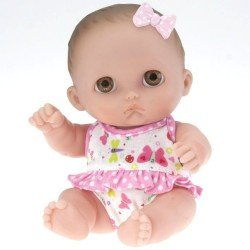 Designed by Berenguer doll 21 cm - Lil' Cutesies - Mimi with pink ribbon