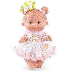 Marina & Pau doll 26 cm - Nenotes Magic Edition - Happy Birthday