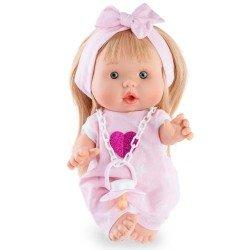 Marina & Pau doll 26 cm - Nenotes Party Edition - Pink