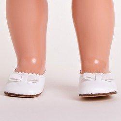 Mariquita Pérez doll Complements 50 cm - White ballet flats