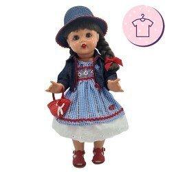 Outfit for Mariquita Pérez doll 50 cm - Countrywoman outfit