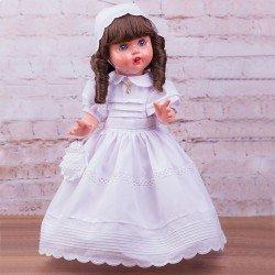 Mariquita Pérez doll 50 cm - White batiste Communion, limited series