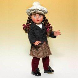 Mariquita Pérez doll 50 cm - With gray blazer outfit
