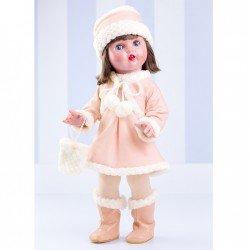 Mariquita Pérez Doll 50 cm - Polar pink winter