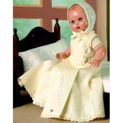 Baby Juanín doll 40 cm - With beige long dress
