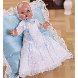 Baby Juanín doll 40 cm - With white long dress
