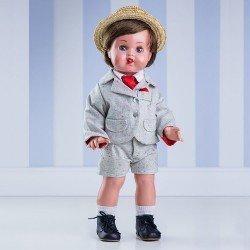 Juanín Pérez Doll 50 cm - With grey mottled set