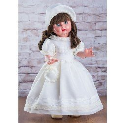 Mariquita Pérez Doll 50 cm - Communion beige, limited series