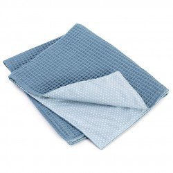 Complements Así doll - Blue blanket with white stars
