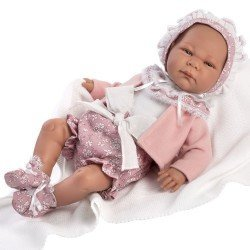 Así doll 46 cm - Ainhoa, limited series Reborn type doll