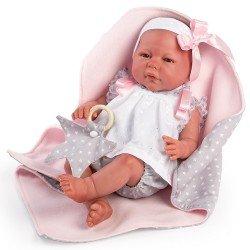 Así doll 46 cm - Leonor Reborn doll
