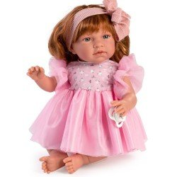 Así doll 46 cm - Noor with pink tulle dress