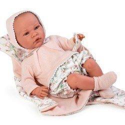 Así doll 46 cm - Julieta, limited series Reborn type doll