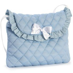 Complements for Así doll - Blue bag with white stars for umbrella doll stroller