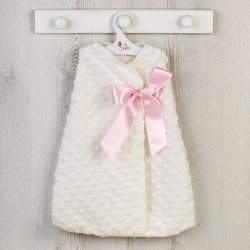 Así doll Outfit 46 cm - Sleeping sack with pink lace for Leo