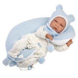 Llorens doll 42 cm - Crying Lalo with light-blue moon