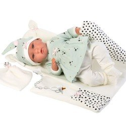 Llorens doll 42 cm - Crying Mimi with changing mat