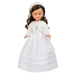 Nancy collection doll 41 cm - Communion brunette