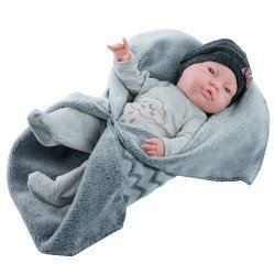Paola Reina doll 45 cm - Bebita with blanket