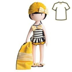 Outfit for Paola Reina doll 32 cm - Gorjuss de Santoro - Beach Belle