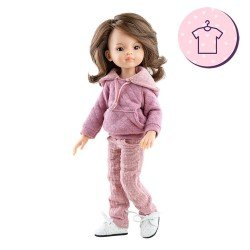 Outfit for Paola Reina doll 32 cm - Las Amigas - Liu pink outfit