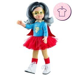 Outfit for Paola Reina doll 32 cm - Las Amigas - Super Paola outfit