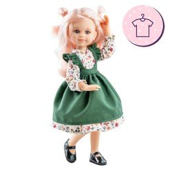 Outfit for Paola Reina doll 32 cm - Las Amigas - Cleo flower dress