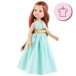Outfit for Paola Reina doll 32 cm - Las Amigas - Cristi epoch dress