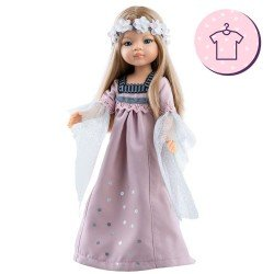 Outfit for Paola Reina doll 32 cm - Las Amigas - Manica epoch dress