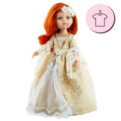 Outfit for Paola Reina doll 32 cm - Las Amigas - Susana epoch dress